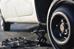changement de crevainson de pneu